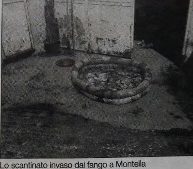 FANGO IN CASA VICINO AL CANTIERE DEL DEPURATORE