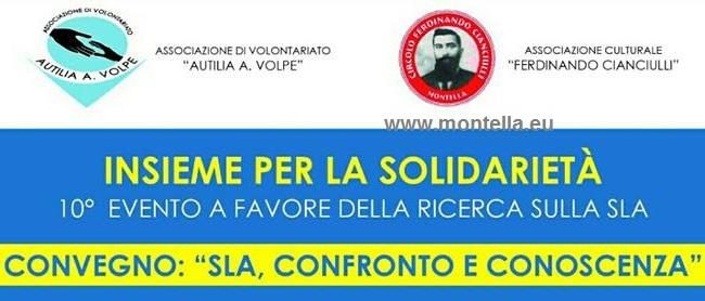 Montella, cultura a servizio del bene: raccolta fondi SLA