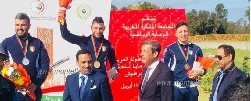 Tiro a volo, in Marocco il podio si colora d'azzurro con la medaglia di bronzo ad Angelo Moscariello