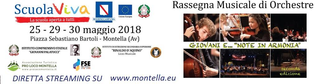 Al via la Seconda Edizione della Rassegna Musicale di Orchestre Giovanili