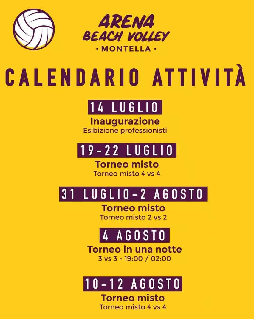 AA 14 07 2018 A Calendario Beach Volley