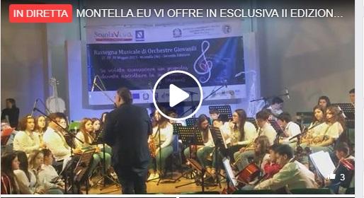 Montella II^ edizione musicale orchestre giovanili - Riprese e cronaca : Daniele Marano