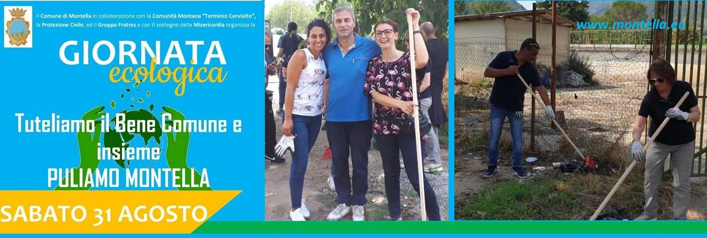 Giornata ecologica Montella 31 agosto 2019