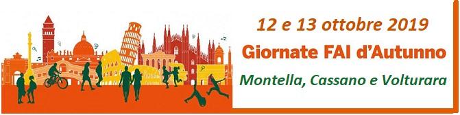 Giornate FAI d'Autunno 2019 a Montella, Cassano e Volturara