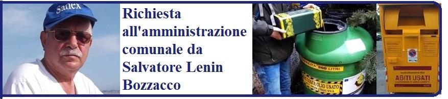 ALLA ATTENZIONE DEGLI AMMINISTRATORI DI MONTELLA - di Salvatore Lenin Bozzacco