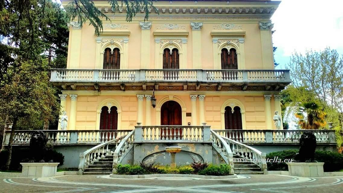 Villa De Marco - Concluso il restauro delle opere in bronzo