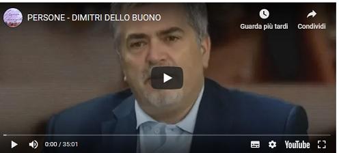 """Persone  - Le interviste di Franco Genzale 24.06.2019 DIMITRI DELLO BUONO, IL MONTELLESE """"GENIALE"""""""