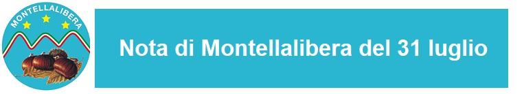 Nota Montellalibera del 31 luglio 2019