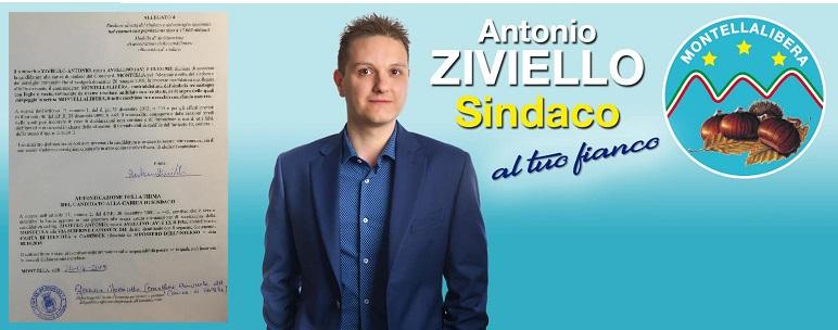 Dichiarazione di accettazione alla candidatura di Sindaco di Antonio Ziviello