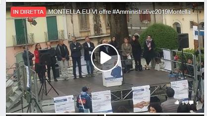 """DIRETTA BENE COMUNE:  in piazza Bartoli Buonopane delinea il programma , """" Diremo cosa vogliamo realizzare e come intendiamo farlo """""""