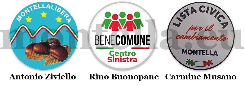 Irpinia al voto. Ecco gli aspiranti sindaci di Montella:  Antonio Ziviello, Rino Buonopane, Carmine Musano