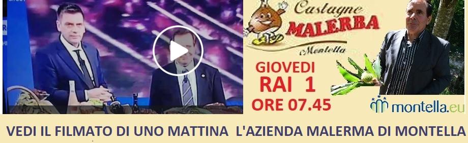 Le castagne Malerba su Rai uno  VIDEO