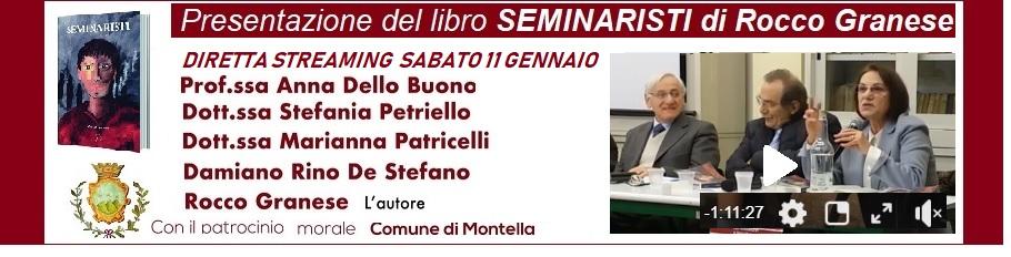 Presentazione del libro   SEMINARISTI  di Rocco Granese