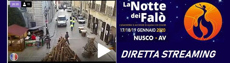 Diretta streaming da Nusco