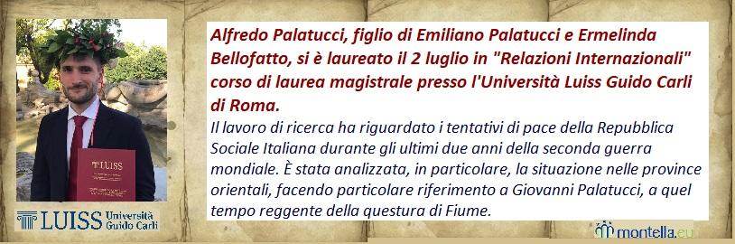 Laurea Alfredo Palatucci