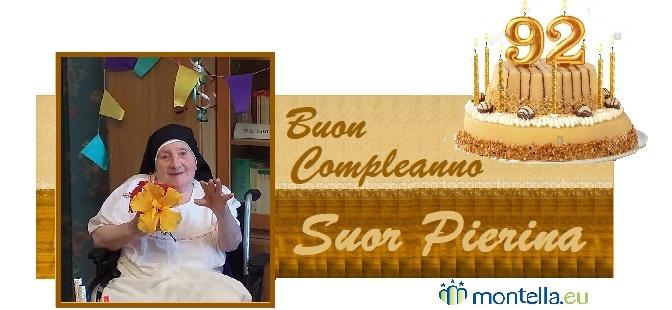 Buon compleanno Suor Pierina