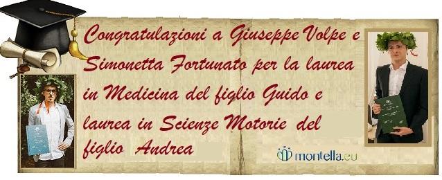 Laurea Guido e Andrea Volpe