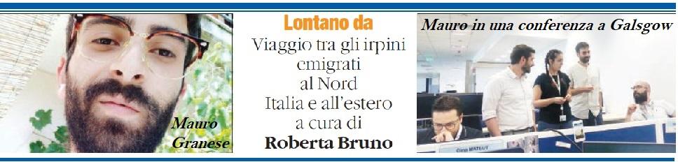 """""""Ho scelto di partire per crescere"""" - di Roberta Bruno - dal Quotidiano del sud"""