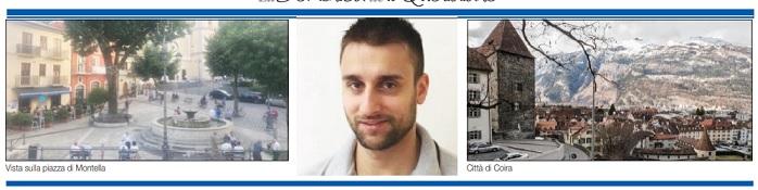 """Qui ho imparato a curare il cuore - Valentino, fuggito da Montella in Svizzera: """"Voglio diventare un buon medico -"""" di Roberta Bruno - dal Quotidiano del sud"""