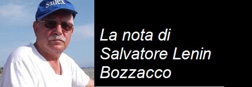 Nota di Salvatore Lenin Bozzacco