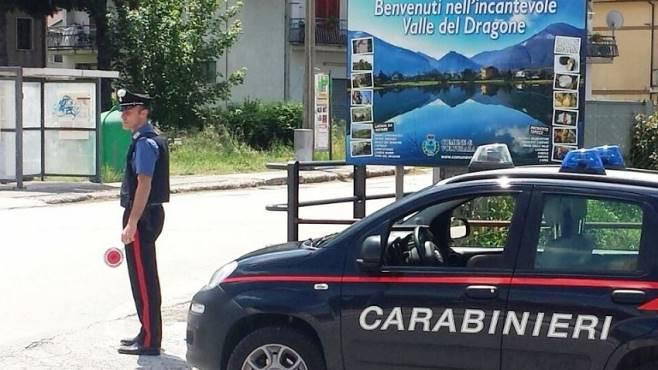 L'operazione dei carabinieri della Compagnia di Montella