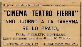 Montella 30 dicembre 1981