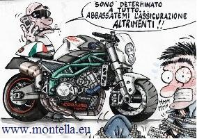 L'assicurazione del motorino di Giuseppe Marano