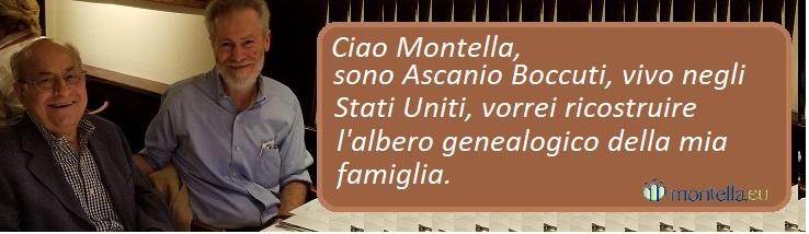 Ciao Montella, sono Ascanio Boccuti