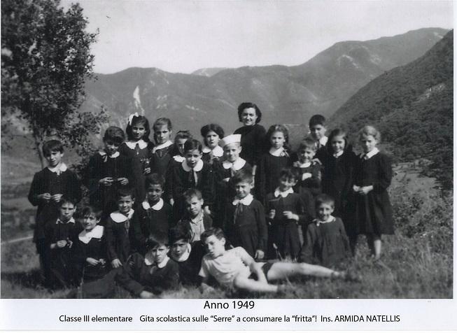 Ricordi le scuole a montella negli anni 45 50 60 di nino for Maestra carmelina classe seconda