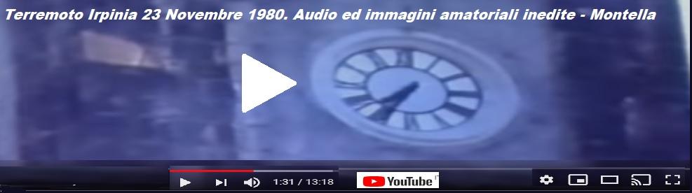 Video e foto di Montella del terremoto 1980 trentanove anni dopo ................